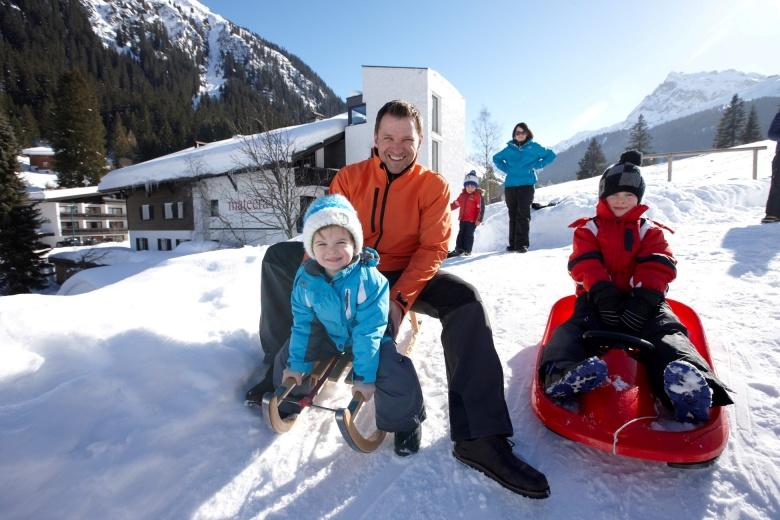 Familienurlaub im Winter, Familienhotel Mateera
