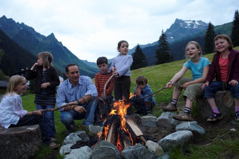 Familienhotel mit Unterhaltungsprogramm in Gargellen, Vorarlberg