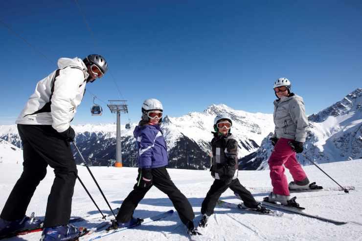 Familien Skiurlaub, Hotel Mateera, Gargellen, Montafon, Vorarlberg