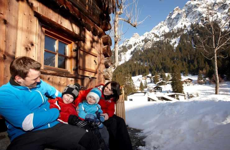 Familienurlaub, Winter, Hotel Mateera, Gargellen, Montafon, Vorarlberg, Österreich