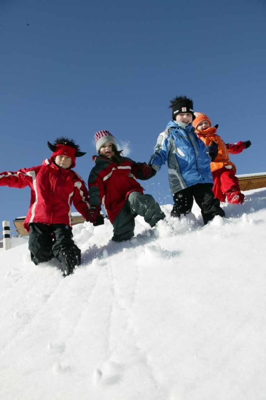 Winterferien, Spielkameraden, Familienurlaub, Gargellen, Montafon, Vorarlberg
