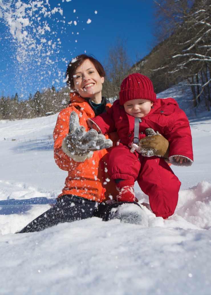Urlaub mit Baby, Babyhotel Mateera, Gargellen, Montafon, Vorarlberg