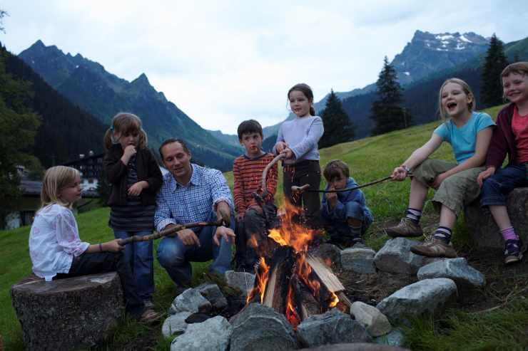 Familienurlaub, Familienhotel Mateera, Gargellen, Montafon, Vorarlberg, Österreich