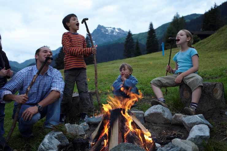 Sommerurlaub, Familienhotel Mateera, Gargellen, Montafon, Vorarlberg, Österreich