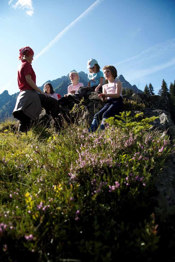 Kinderbetreuung, Familienhotel Mateera, Gargellen, Montafon, Vorarlberg