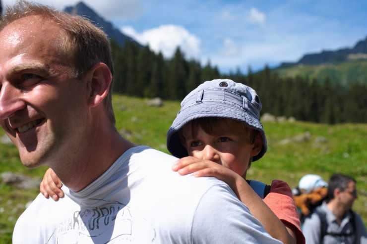 Wanderurlaub, Sommer in den Bergen, Familienhotel Mateera, Gargellen, Montafon, Vorarlberg, Österreich