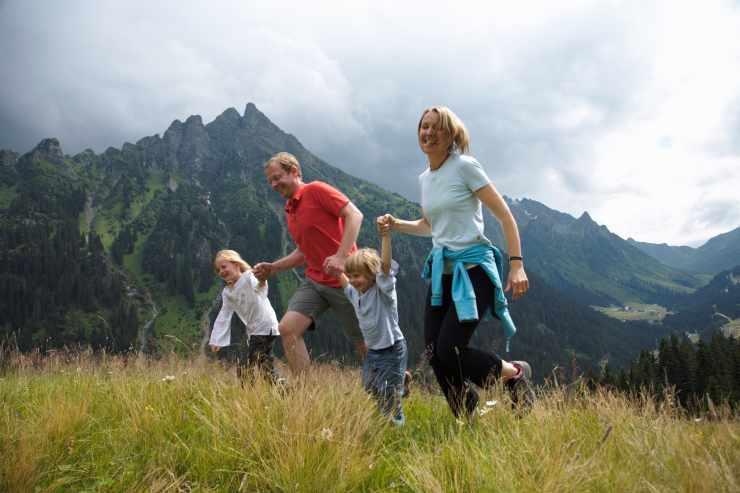 Familienurlaub in den Bergen, Hotel Mateera, Gargellen, Montafon, Vorarlberg, Österreich