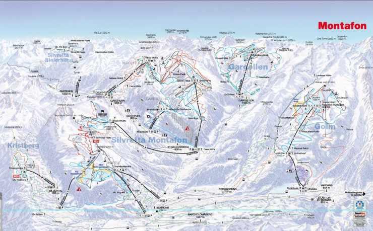 Skigebiet Montafon, Gargellen, Hotel Mateera, Vorarlberg, Österreich