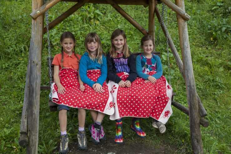 Spielkameraden im Urlaub, Familienhotel Mateera, Gargellen, Montafon, Vorarlberg