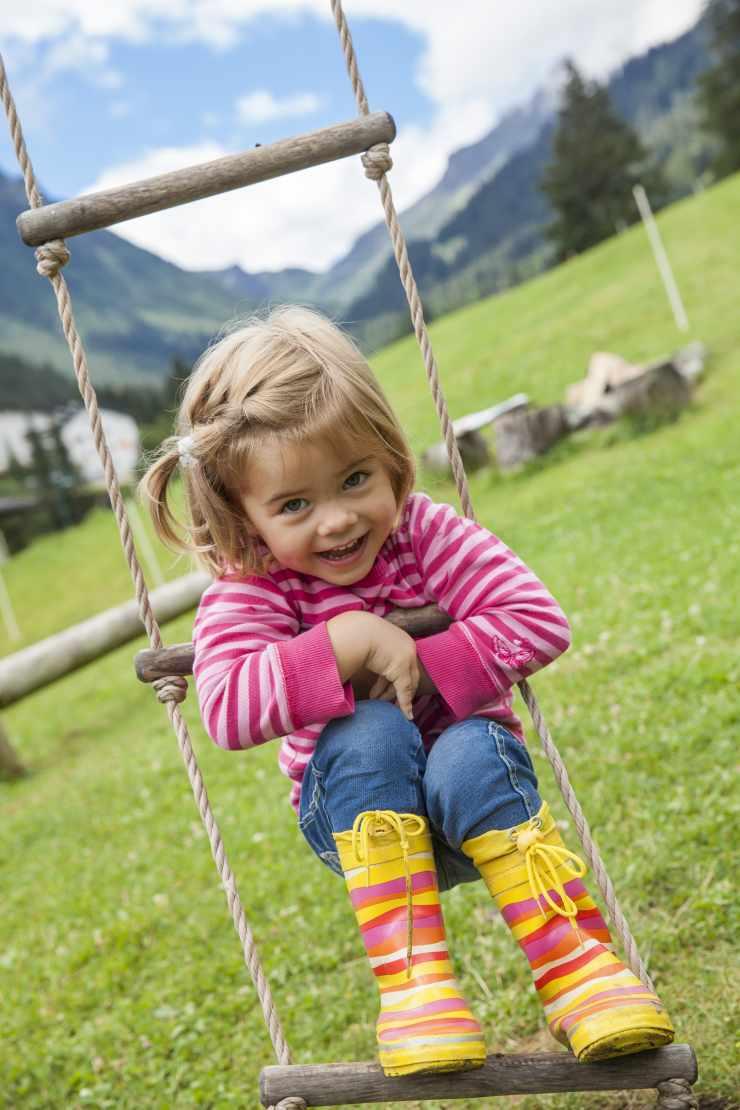 Urlaub mit Kleinkind, Kinderhotel Mateera, Gargellen, Montafon, Vorarlberg