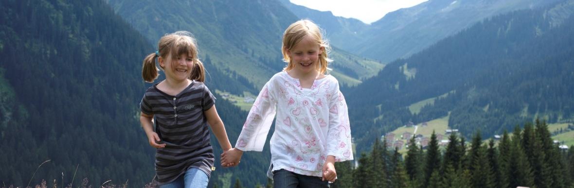 Urlaubsangebote für Familienferien in Vorarlberg, Österreich