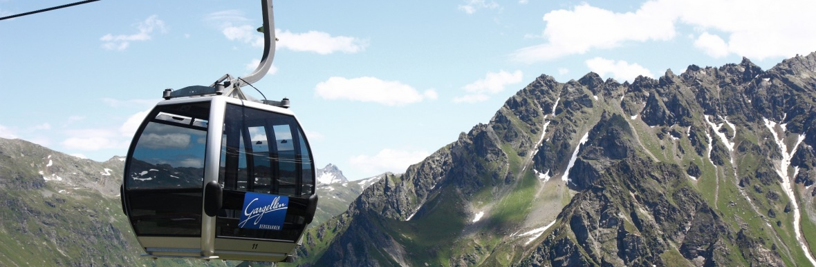 Cable Cars Montafon and Gargellen