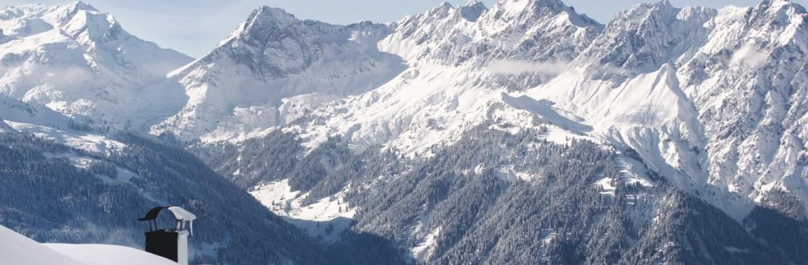 Livecam und Webcam Skigebiet Gargellen, Silvretta Montafon, Golm, Vorarlberg, Kristbergbahn