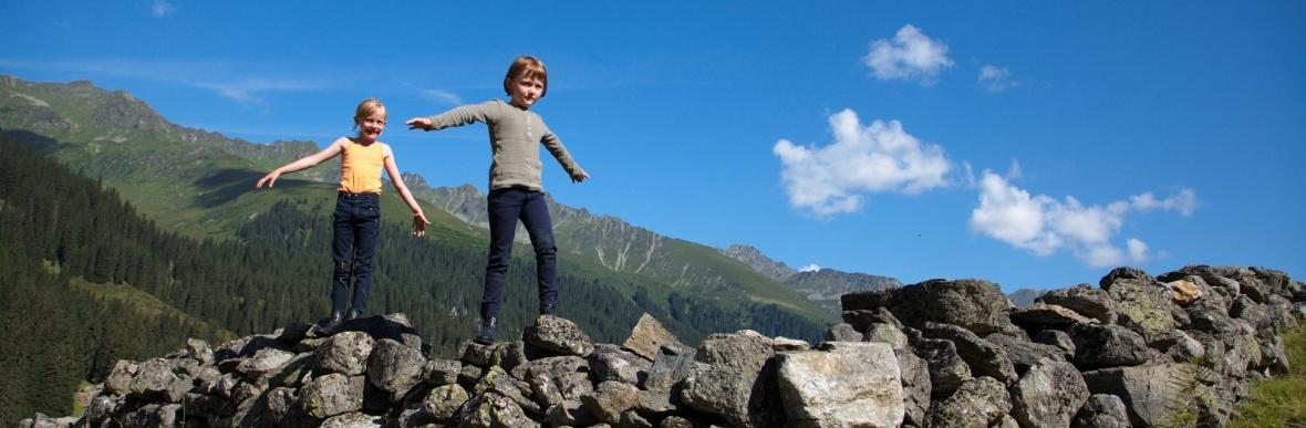 Familienferien mit Kinderbetreuung, Wanderurlaub im Montafon, Vorarlberg