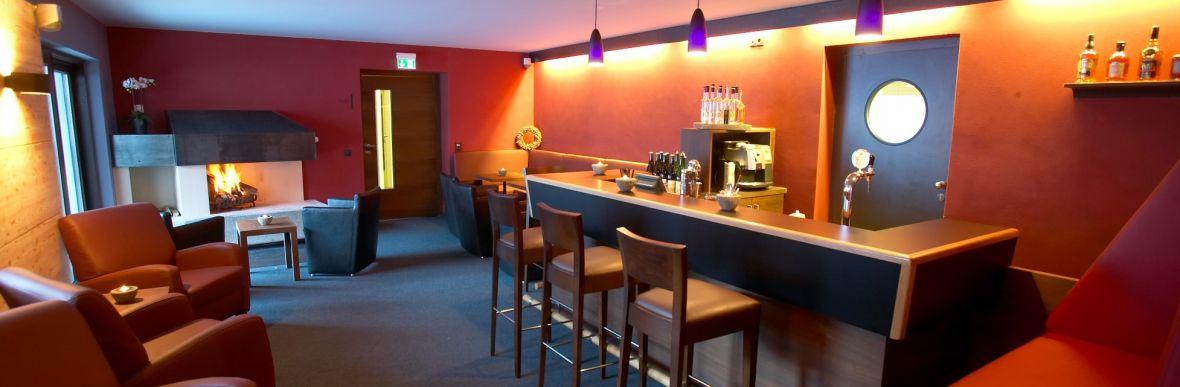 Hotelbar, Kaminbar, Aperitif und Digestif, Vorarlberger Köstlichkeiten