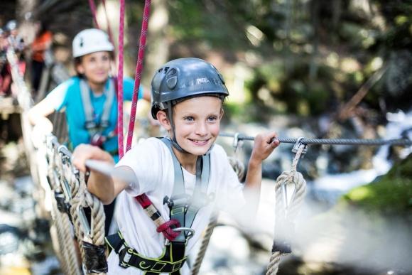 Klettern im Familienurlaub, Sommerurlaub in Vorarlberg