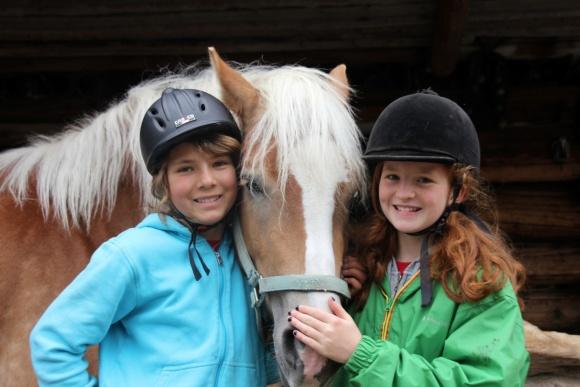 Riding holidays, horse stable, familyhotel with horses, Montafon, Vorarlberg