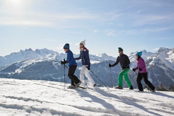 Skigebiet Montafon, Schneeschuhwandern und Winterwandern in Vorarlberg