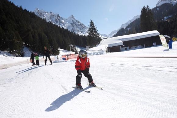 Skischule, Kinderskischule, Ski fahren lernen in Vorarlberg, Montafon, Gargellen