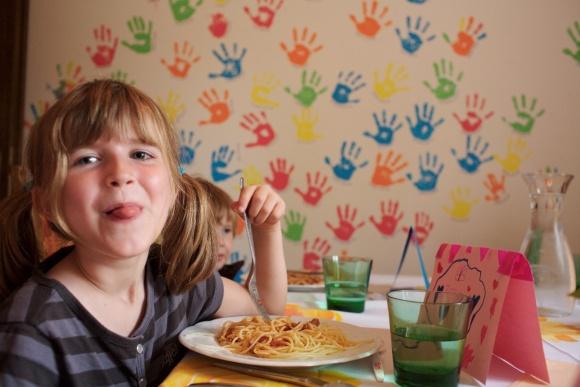Betreutes Kinderessen, Kinderrestaurant im Familinhotel