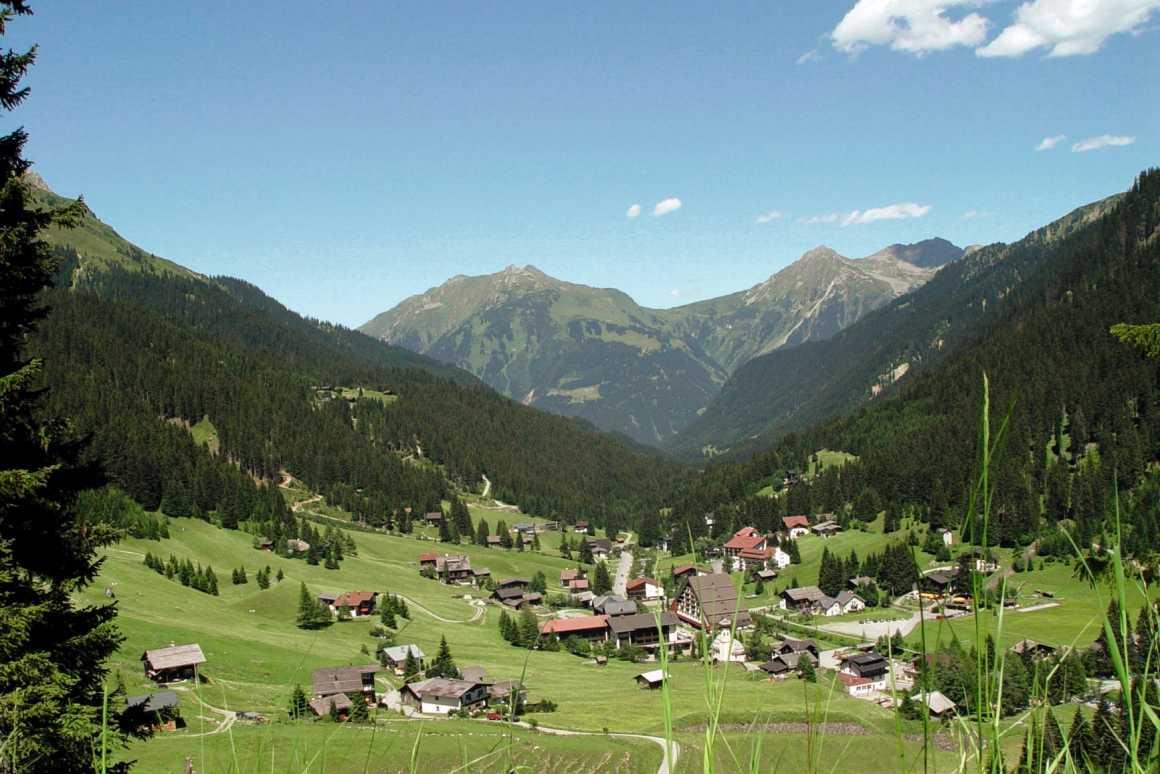 Webcam in den Urlaubsort Gargellen im Montafon Vorarlberg