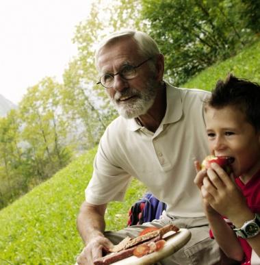 Mit Enkelkinder auf Urlaub, Enkel im Urlaub, Hotel Lagant
