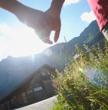 Spezialangebot für Freunde-Rabatt und Familienferien in Gargellen