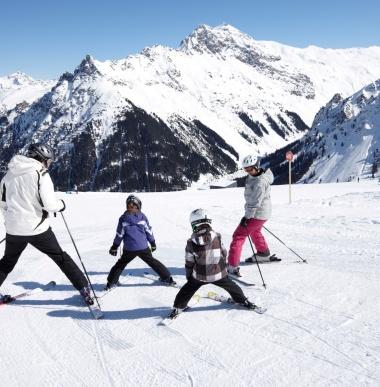 Skiurlaub Montafon, Österreich, Skiferien mit der Familie