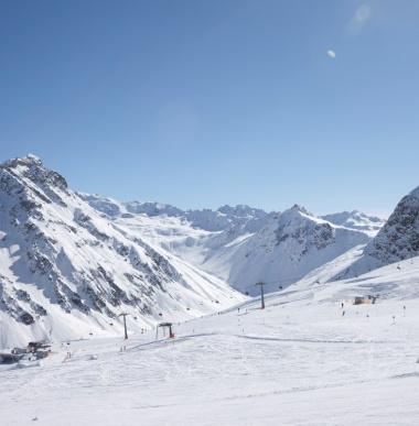 Skigebiet Montafon, Vorarlberg, Skipiste Gargellen