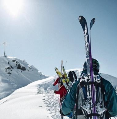 Tourenski, Schneetouren, Skitouren, Schneeschuhwandern in Vorarlberg