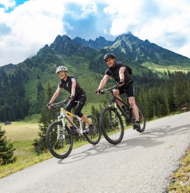 Mountainbike holidays mountains of Vorarlberg
