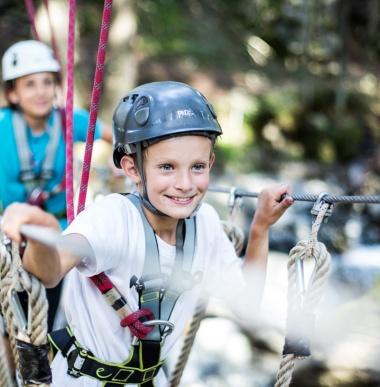 Kostenloses Abenteuerprogramm für die Familie im Familienurlaub