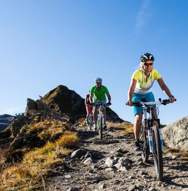 Mountainbikerouten, Bikeurlaub, Familienurlaub