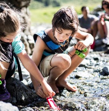 Familienurlaub Montafon, Vorarlberg mit Ferienprogramm