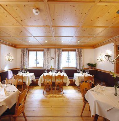 Familienhotel Restaurant und Kinderrestaurant, Betreutes Abendessen