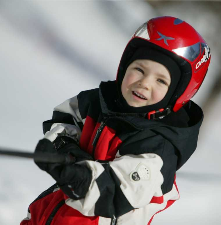Kinderskikurs im Winterurlaub, Hotel Lagant, Brand, Vorarlberg