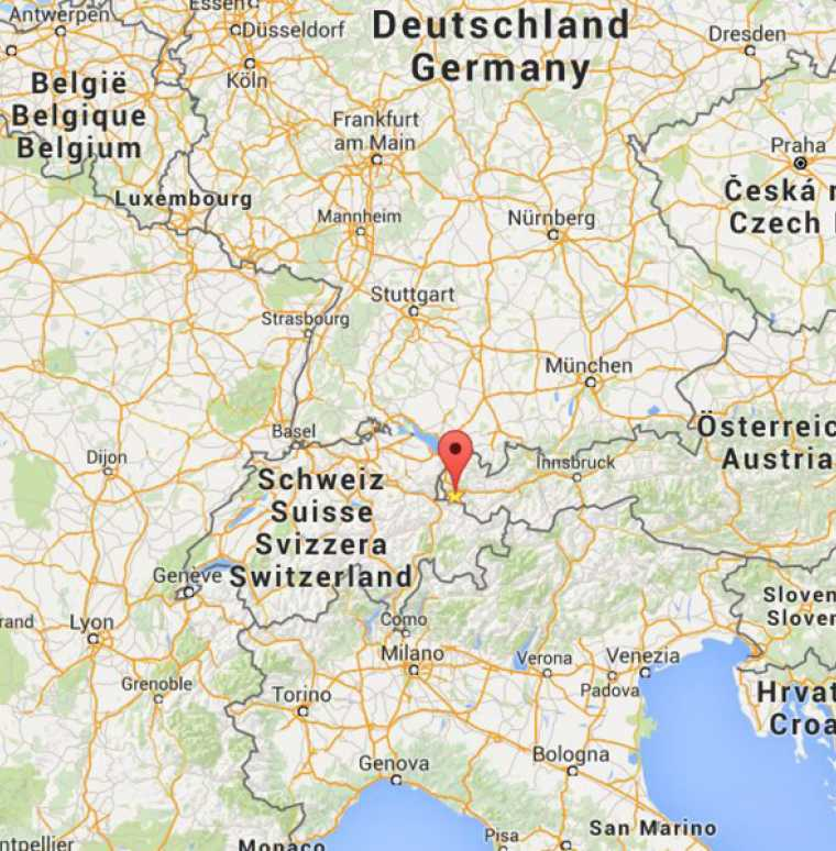 Routenplaner, Anreise und Lage, Familienhotel Lagant, Brand, Vorarlberg