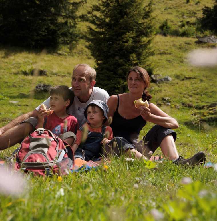 Familienwanderwege und Themenwege im Montafon