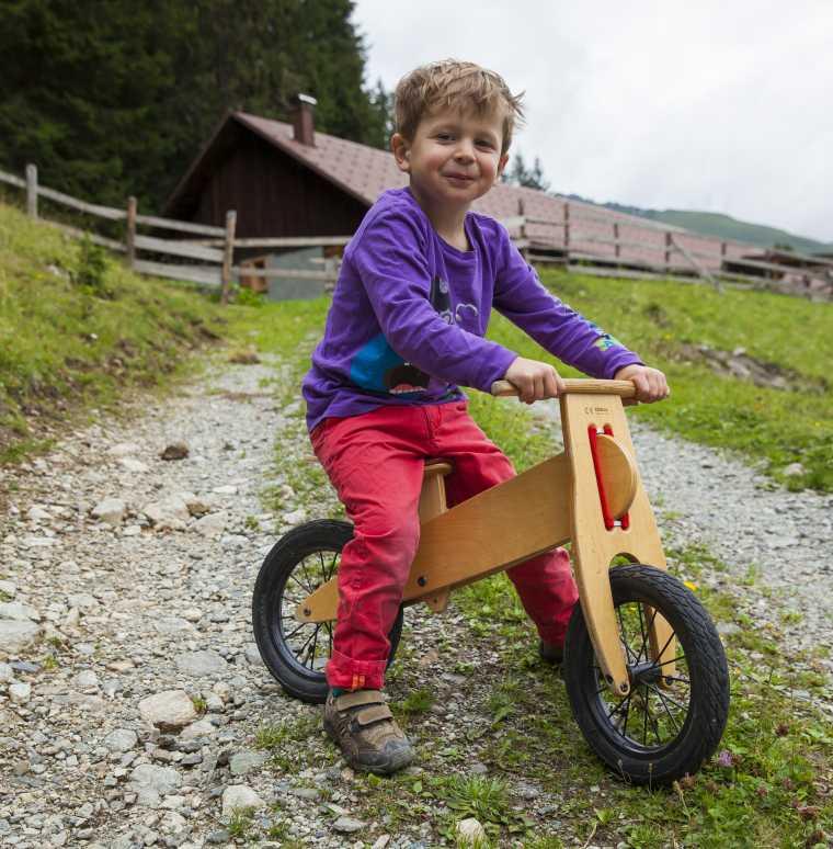 Sommerurlaub in den Bergen, Gargellen, Montafon, Vorarlberg