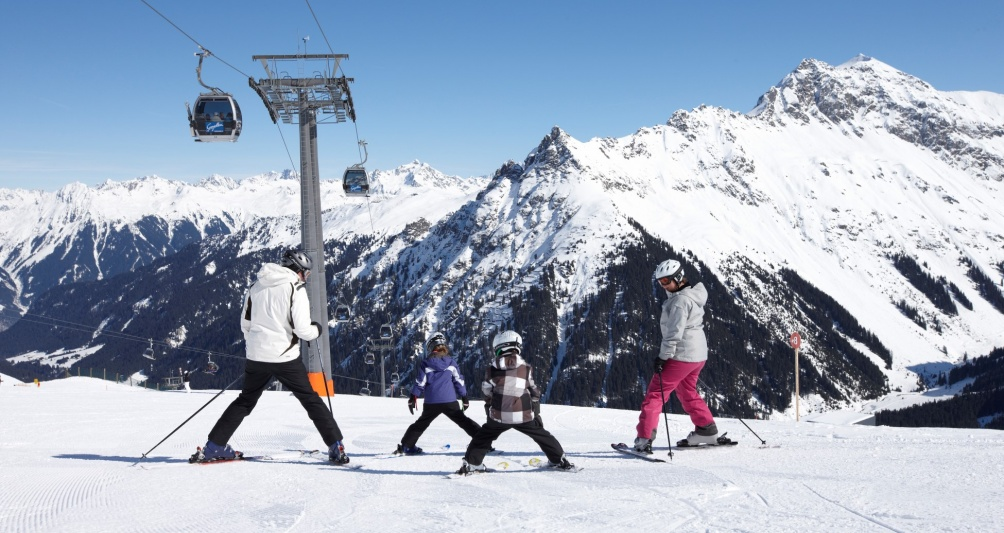 Skigebiet Montafon, Skiurlaub mit der Familie