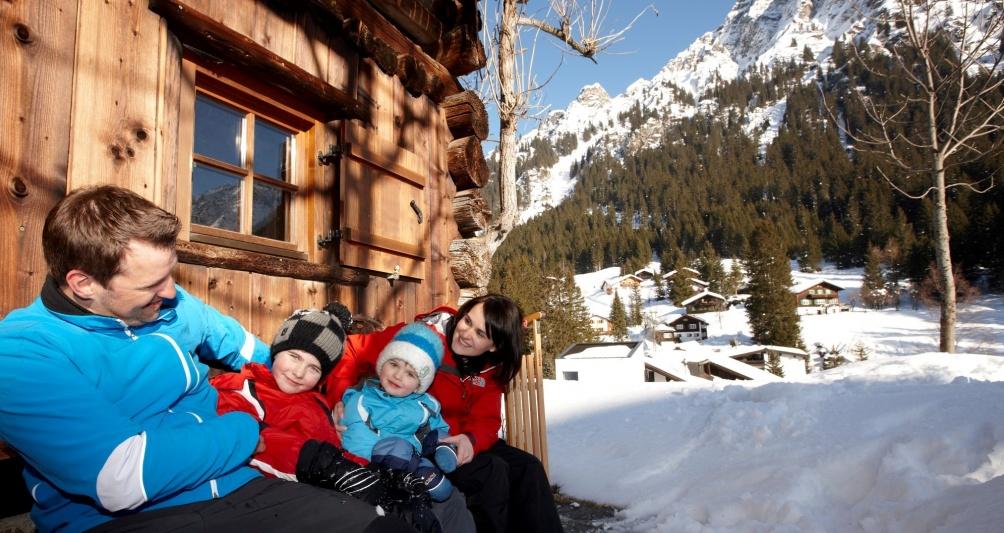 Winterferien im Skigebiet Montafon