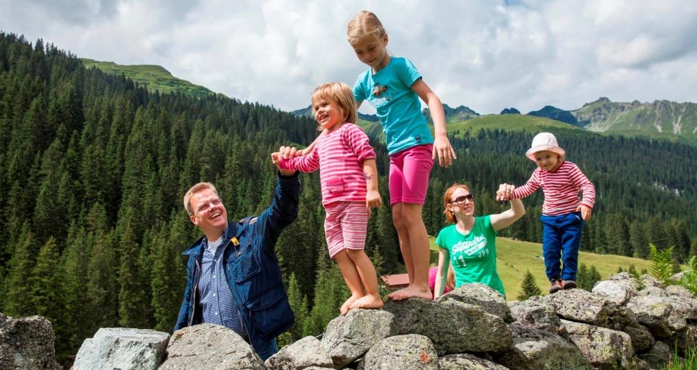 Sommerurlaub für die Familie im Montafon, Vorarlberg