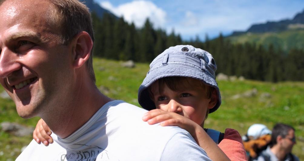 Wandern im Montafon, Wanderurlaub mit Familie, Kinderhotel Mateera