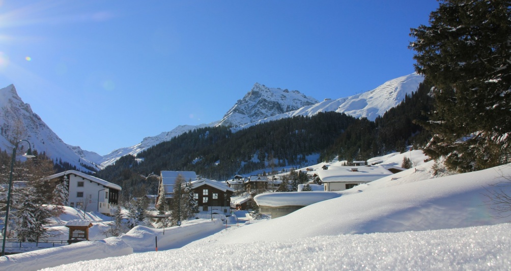 Winter holidays with family in Vorarlberg