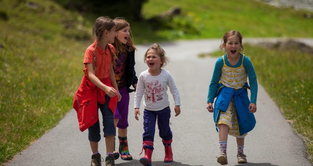 Kinderbetreuung im Familienhotel Mateera, Gargellen, Montafon