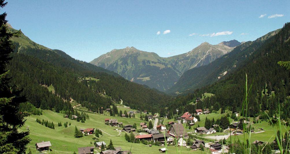 Sommerurlaub in Gargellen, Montafon, Webcam