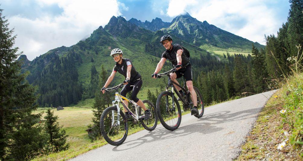 Bikerlebnis Gargellen im Montafon, Bikeurlaub in den Bergen