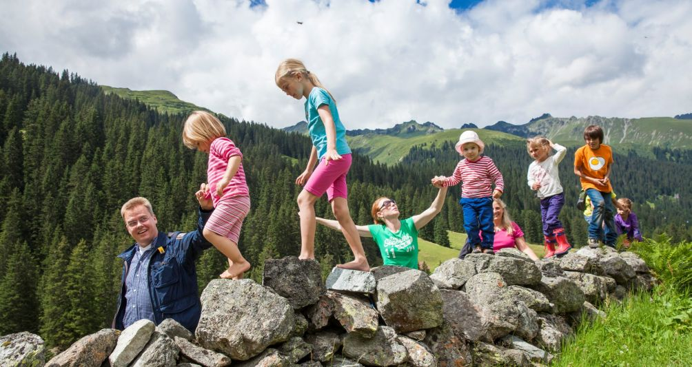 Sommerurlaub im Montafon, Vorarlberg, Familienferien