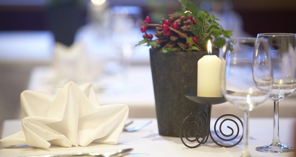 Restaurant im Hotel Mateera, Familienurlaub in Vorarlberg